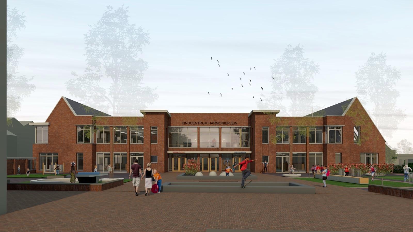 Hoe staat het eigenlijk met het kindcentrum aan het Harmonieplein?