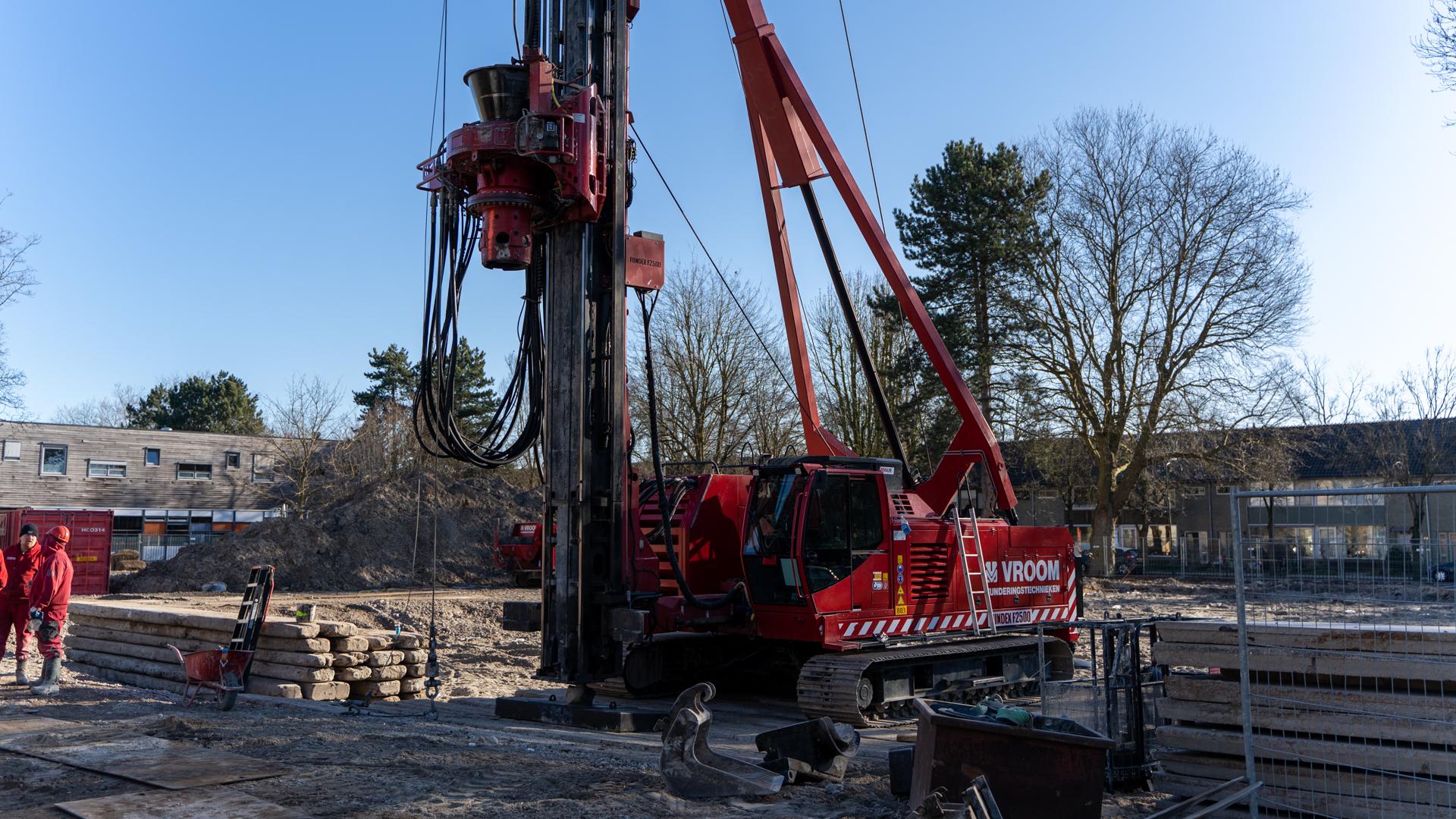 Start bouw Koningin Beatrixschool