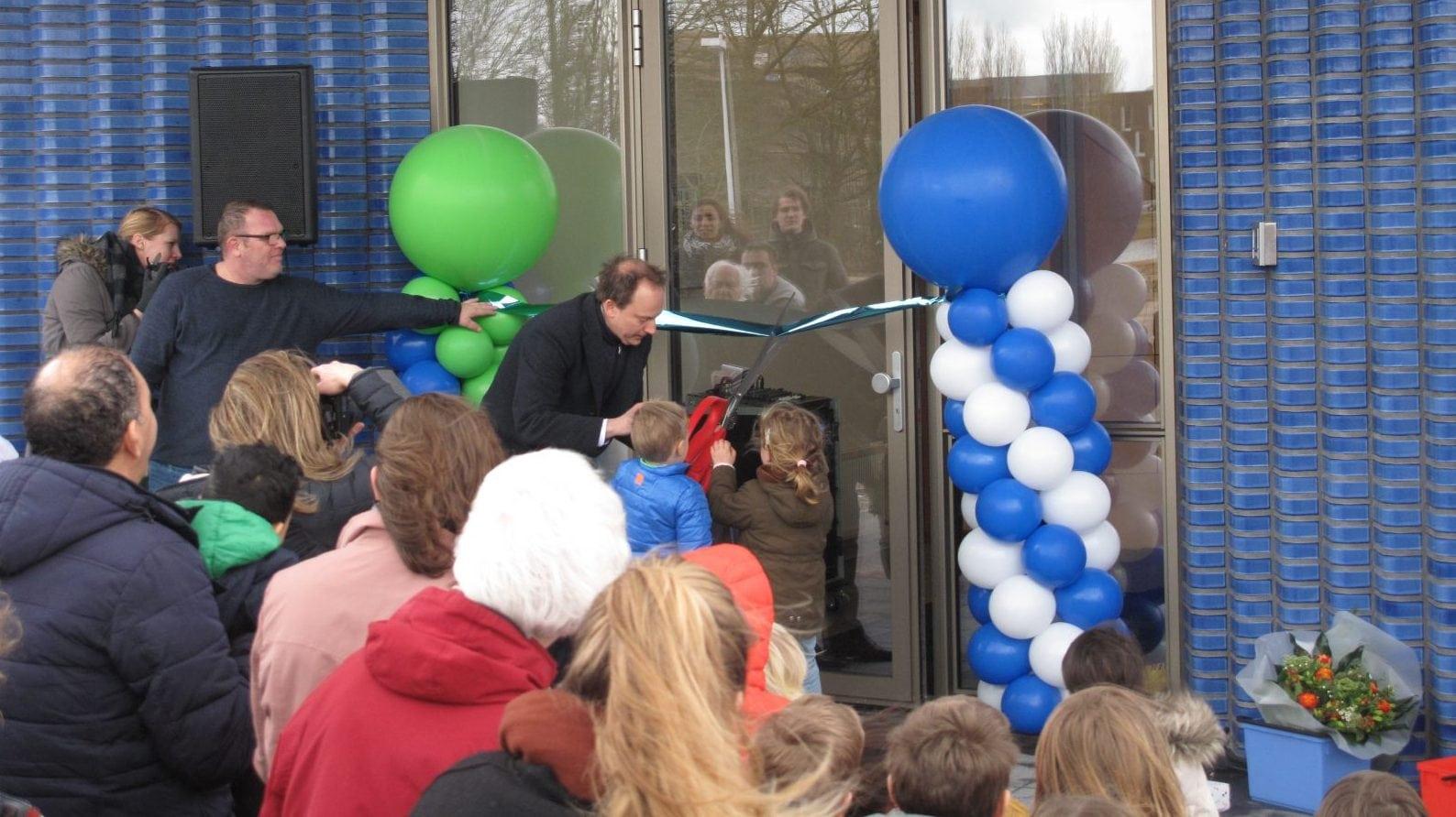 Onder de Bogen en Eben Haëzerschool geopend
